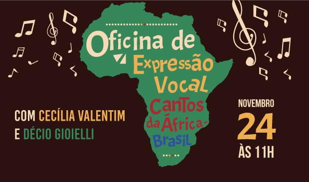 Oficina de Expressão Vocal