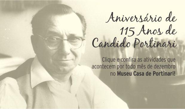 Aniversário de 115 anos de Candido Portinari